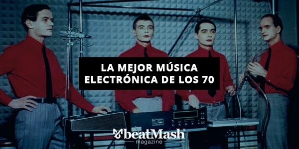 La mejor música electrónica de los 70