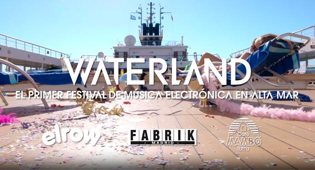 Fabrik, Elrow y Café Mambo en el crucero de música electrónica Waterland