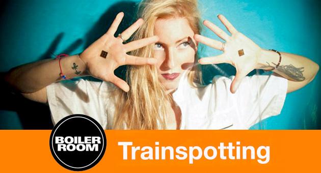 Ellen Allien, Sasha y Goldie en Boiler Room especial Trainspotting