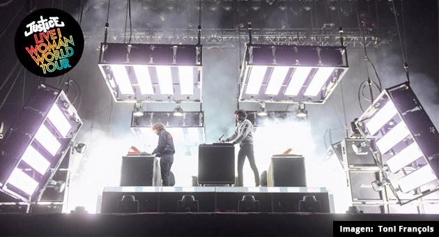 Justice estrena su nuevo Live