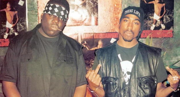 Serie sobre los asesinatos de Notorious BIG y Tupac Shakur en marcha
