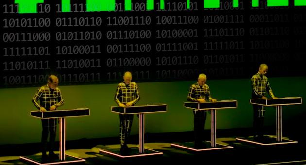 """Kraftwerk anuncia nuevo """"3D Live Album"""""""