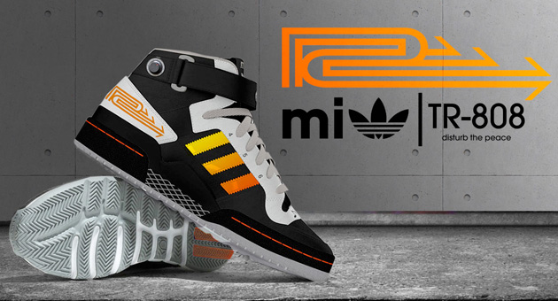 Unas Adidas inspiradas en la Roland TR-808