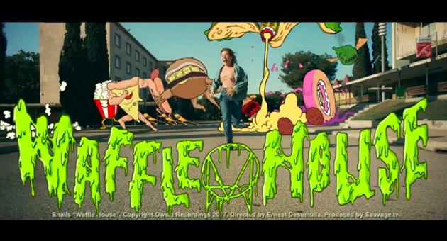 """Nuevo vídeo de Snails & Botnek """"Waffle House"""""""