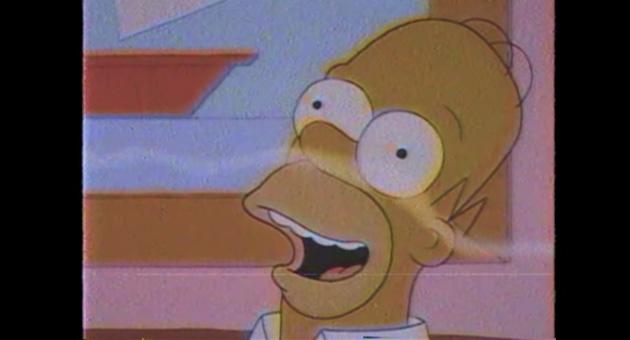 """Estrenamos el Simpsonwave de Solo Astra """"Natural Burger"""""""