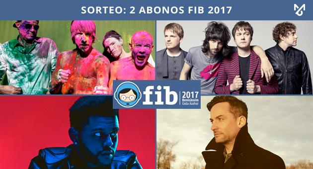 Sorteo: 2 Abonos para FIB 2017
