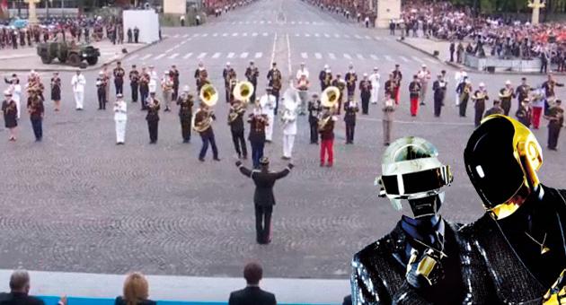 Daft Punk suena en versión orquestal en el Día Nacional de Francia