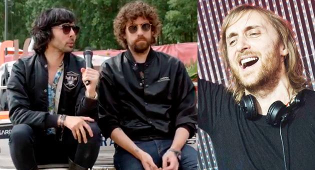 """Justice: """"Guetta publica muy buena música con alías desconocidos"""""""
