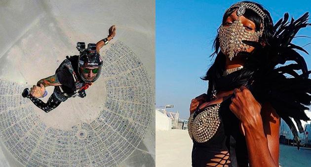 Las mejores imágenes de Burning Man 2017