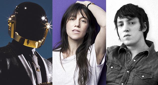Daft Punk's Guy-Manuel y SebastiAn en el disco de Charlotte Gainsbourg