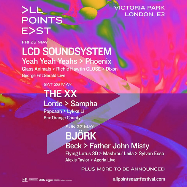 all points east lineup